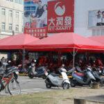 宮廷帳(全紅色)