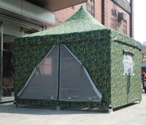 數位迷彩帳篷