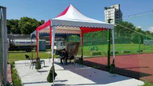 木柵網球場 阿里山帳篷